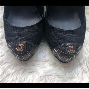 Beautiful Elegant authentic Chanel pumps
